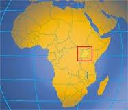 upganda africa map